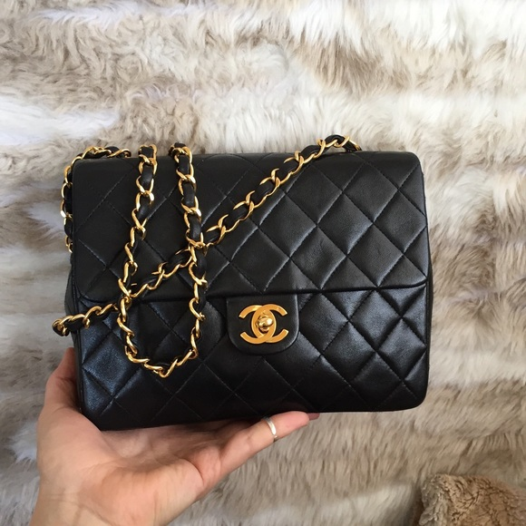 2c3bb6aa162abc CHANEL Handbags - Chanel lambskin square single Flap crossbody bag